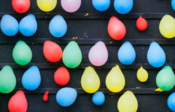 Carnival Balloon Popping Royalty Free Stock Images