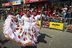 Carnival of Barranquilla, in Colombia. Royalty Free Stock Photos