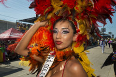 Carnival of Barranquilla, in Colombia. Stock Photography