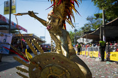 Carnival of Barranquilla, in Colombia. Royalty Free Stock Images