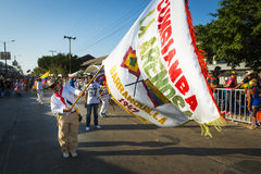 Carnival of Barranquilla, in Colombia. Stock Image