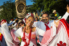 Carnival of Barranquilla, in Colombia. Royalty Free Stock Photo