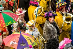 Carnival in Dunkirk, France stock images