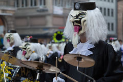 Carnival of Basel Stock Photos