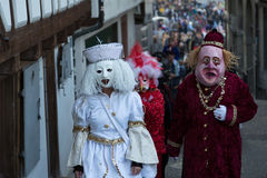 Carnival of Basel Stock Images