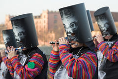 Carnival of Basel Stock Photography