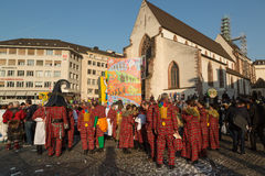 Carnival of Basel Royalty Free Stock Images