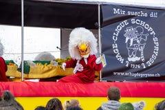 Carnival of Basel 2019 royalty free stock photo