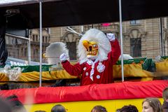 Carnival of Basel 2019 stock photography