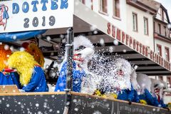 Carnival of Basel 2019 stock images