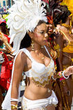 Carnival female beauty Royalty Free Stock Photo