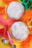 Carnival Berliner Doughnut Donuts Stock Images