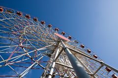 Carnival Big Ferris Wheel Stock Photo