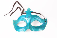 Carnival blue mask Stock Photos