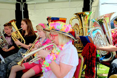 Carnival Brass Band. Stock Image