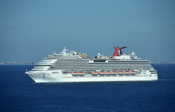 Carnival Breeze cruise ship Stock Photography