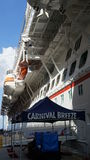 Carnival Breeze cruise ship Stock Image