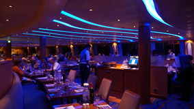 Carnival Breeze cruise ship. Interior of the Carnival Breeze cruise ship Royalty Free Stock Photos