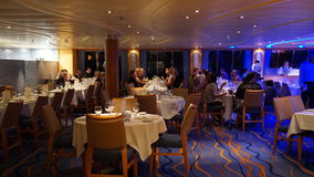 Carnival Breeze cruise ship. Interior of the Carnival Breeze cruise ship Stock Images