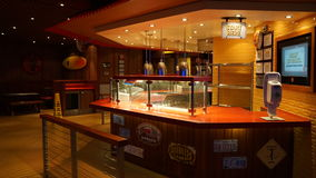 Carnival Breeze cruise ship. Interior of the Carnival Breeze cruise ship Royalty Free Stock Photo