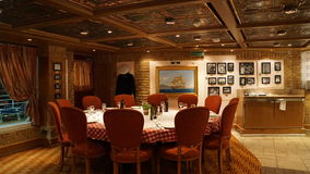 Carnival Breeze cruise ship. Interior of the Carnival Breeze cruise ship Stock Photography