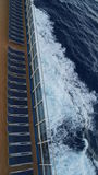 Carnival Breeze cruise ship. Sailing away from Florida Royalty Free Stock Photography