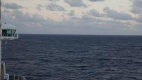 Carnival Breeze cruise ship. Sailing away from Florida Royalty Free Stock Photo