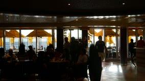 Carnival Breeze cruise ship. Sailing away from Miami, Florida Royalty Free Stock Photo