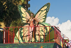 Free Carnival Butterfly Model Stock Photo - 19066420