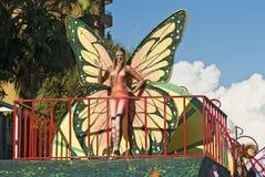 Carnival Butterfly Model Stock Photo