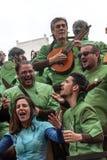 Carnival of Cadiz Stock Image