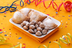 Carnival cakes royalty free stock photography
