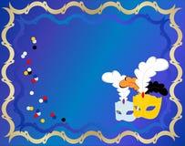 Carnival card Royalty Free Stock Photo