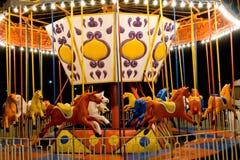 Carnival carousel Stock Image