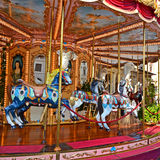 Carnival Carousel in Florence Royalty Free Stock Photo