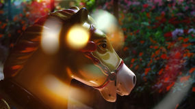 Carnival Carousel Horse Stock Image