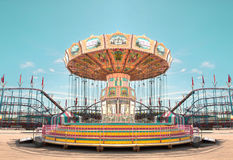Carnival carousel Royalty Free Stock Photography
