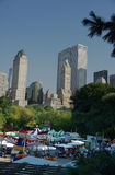 A carnival at central park new york city Royalty Free Stock Photography