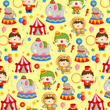 Carnival circus background Stock Image