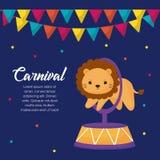 Carnival circus design vector illustration