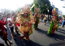 Carnival clothes Royalty Free Stock Image