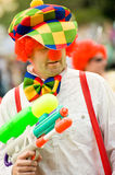 Carnival clown Royalty Free Stock Images