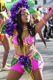 Christmas Caribbean carnival Stock Image