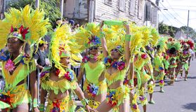 Caribbean Christmas Carnival Stock Photo