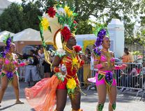Caribbean carnival Royalty Free Stock Image