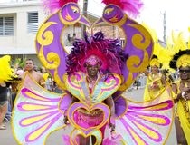 Carnival at Caribbean islands Royalty Free Stock Photo