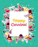 Carnival Concept Banner Royalty Free Stock Image