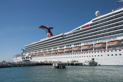 Carnival Conquest Cruise Ship Royalty Free Stock Image