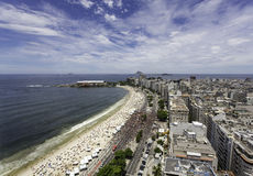 Carnival on Copacabana Beach Stock Photography