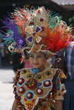 Carnival costum Royalty Free Stock Photo